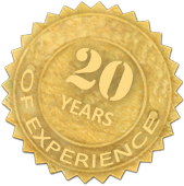 kogemus 20 years of experience