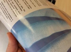 Linase UV kohtlaki mustri lähivaade
