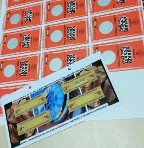 Loterii ehk ära kraabitav värv, mis põhineb samuti UV kohtlakil